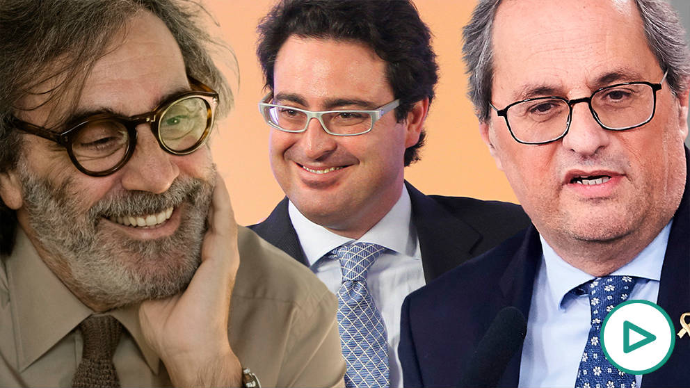 Tatxo Benet, David Madí y Quim Torra.