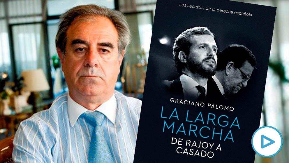 Graciano Palomo, autor de «La larga marcha. De Rajoy a Casado»