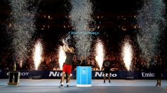Alexander Zverev, campeón de las ATP Finals 2018. (Getty)