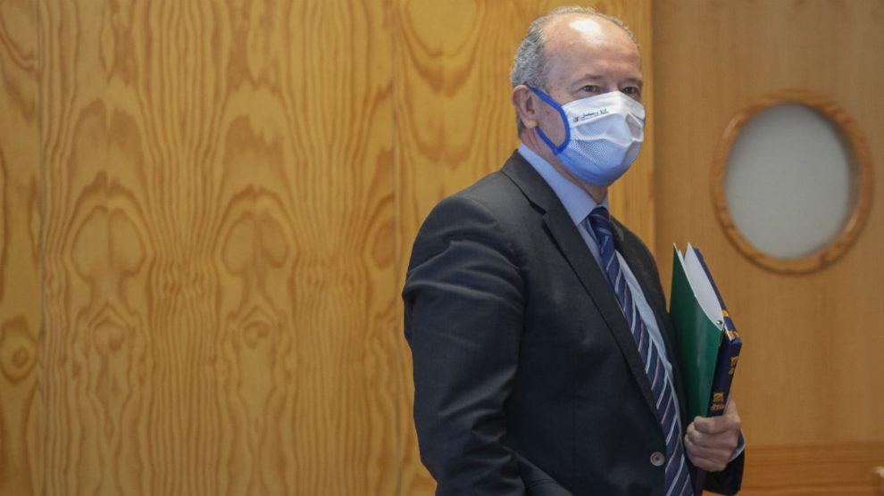 El ministro de Justicia, Juan Carlos Campo. (Foto: EP)