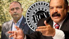 El consejero delegado de Cárnicas Joselito, Juan Luis Gómez, y el ex presidente del Banco Central de Venezuela (BCV), Nelson Merentes.
