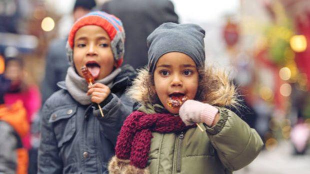 dieta invierno niños