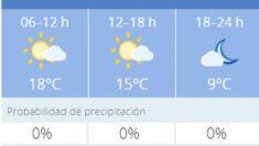El tiempo en Granada: Previsión meteorológica de hoy, 10 de noviembre del 2020