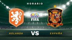 Amistoso internacional: Holanda – España| Horario del partido de fútbol de selecciones.