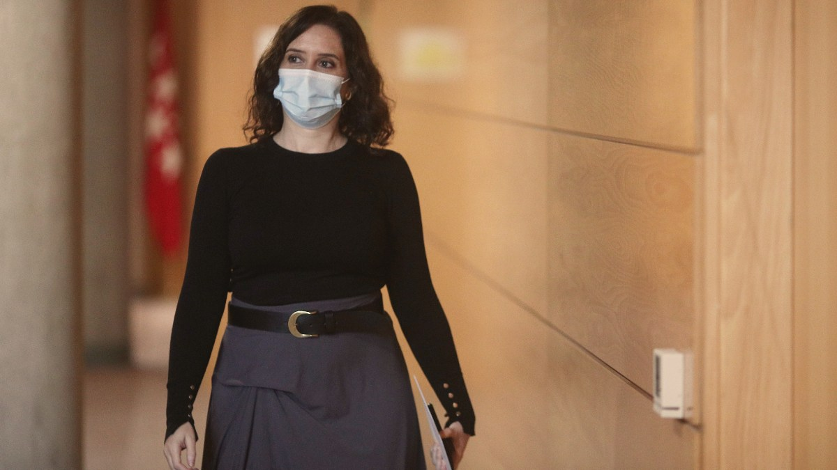 La presidenta de la Comunidad de Madrid, Isabel Díaz Ayuso. Foto: EP