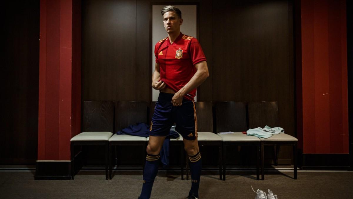 Marcos Llorente, con la camiseta de España. (SeFutbol)