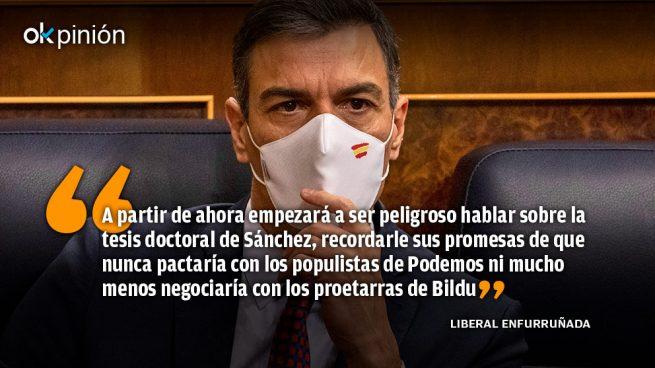 La desinformación se llama Pedro Sánchez