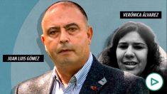 El consejero delegado de Cárnicas Joselito, Juan Luis Gómez, y Verónica Álvarez.