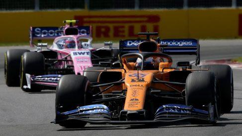 McLaren y Red Bull están a un punto de Renault en el Mundial de Constructores. (AFP)