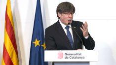 El ex presidente de la Generalitat fugado en Bélgica, Carles Puigdemont. (Foto: Europa Press)