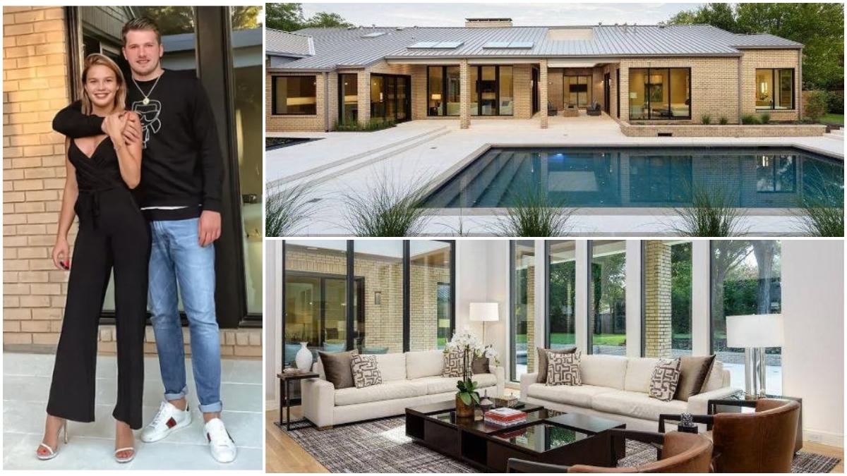 Luka Doncic, su novia y su casa.