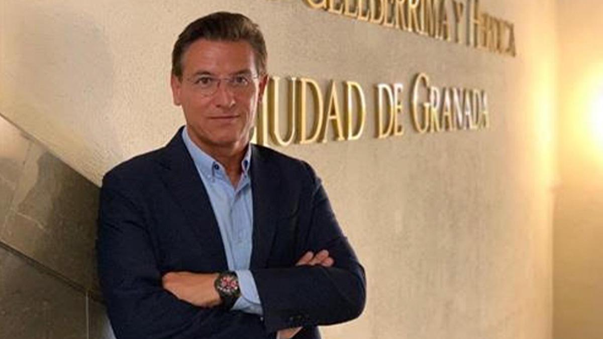 Luis Salvador, alcalde de Granada.