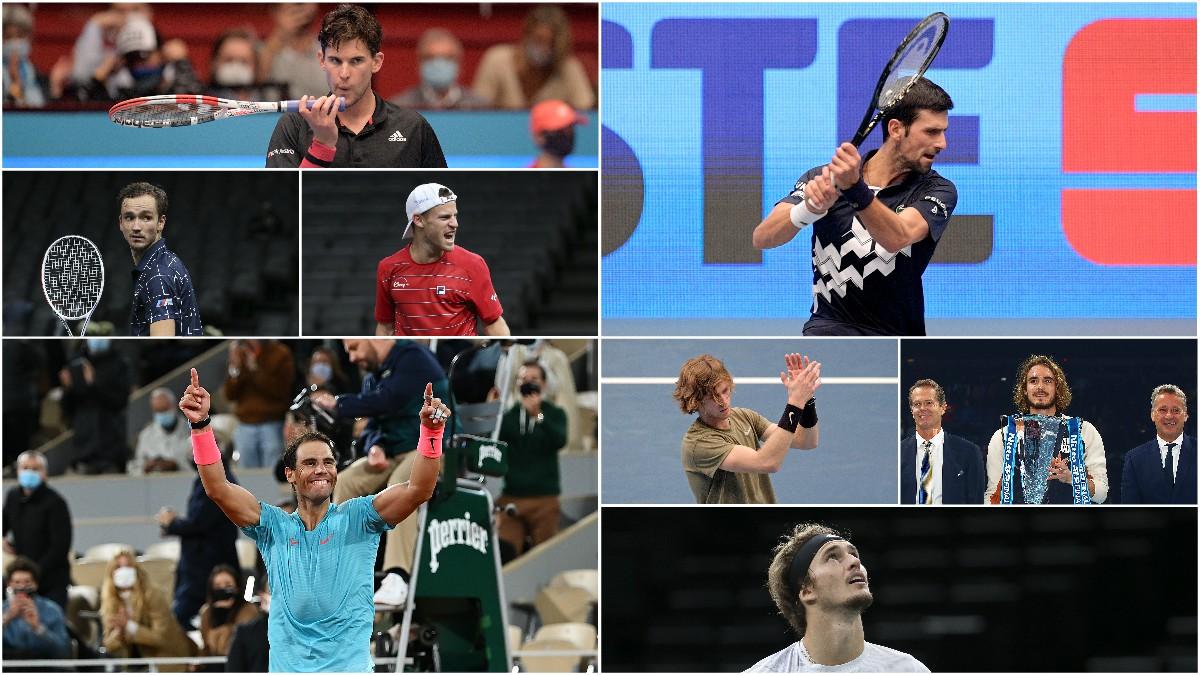 Los ocho participantes en la Copa de Maestros. (Getty)