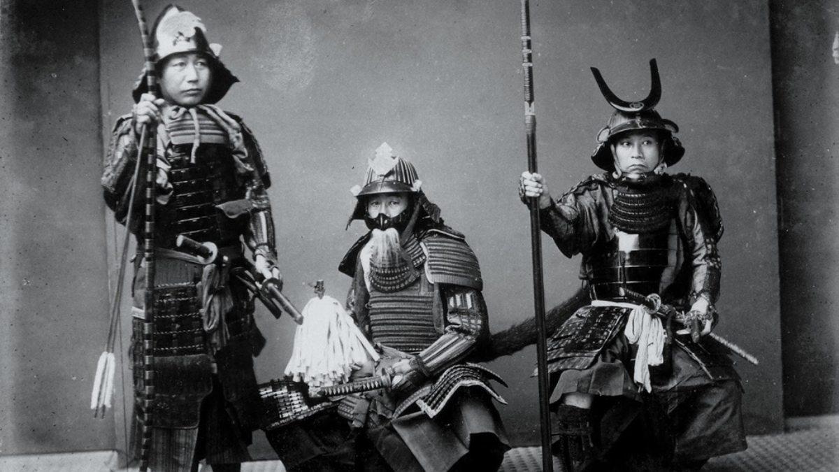 Samurais japoneses