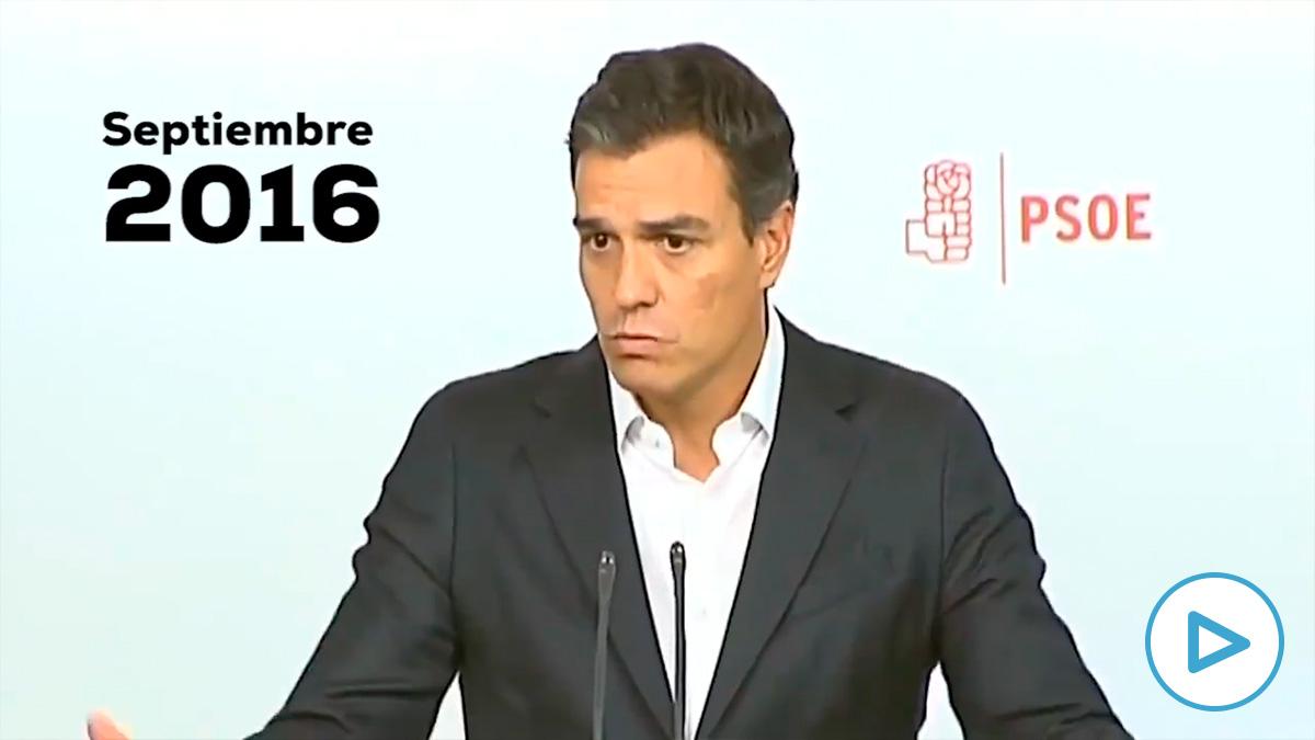 Estas son las 5 veces que Pedro Sánchez prometió (en falso) que nunca pactaría con Bildu.