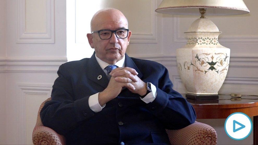 Juan Caño, presidente de la Asociación de la Prensa de Madrid (APM)