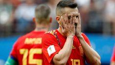 Jordi Alba, durante el Mundial de Rusia. (Getty)