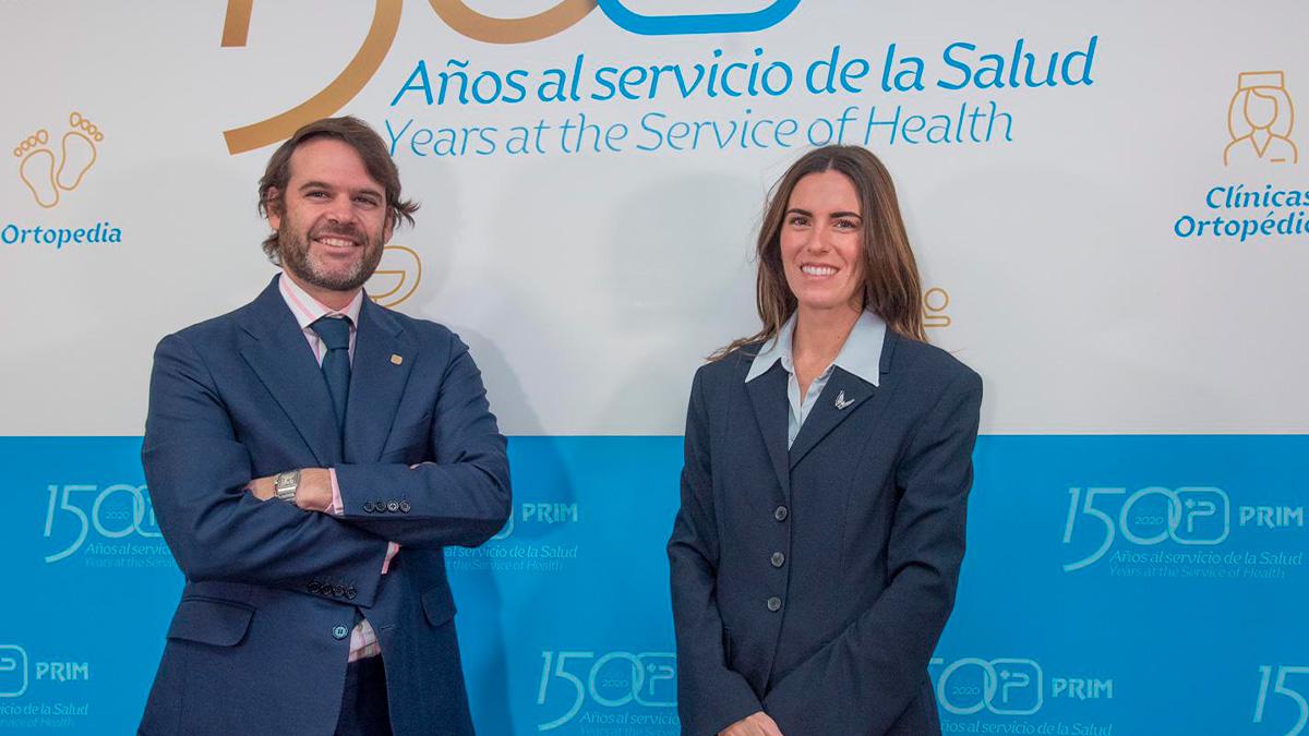 Jorge Prim y Lucia Comenge, vicepresidente y presidenta Grupo Prim, respetivamente.