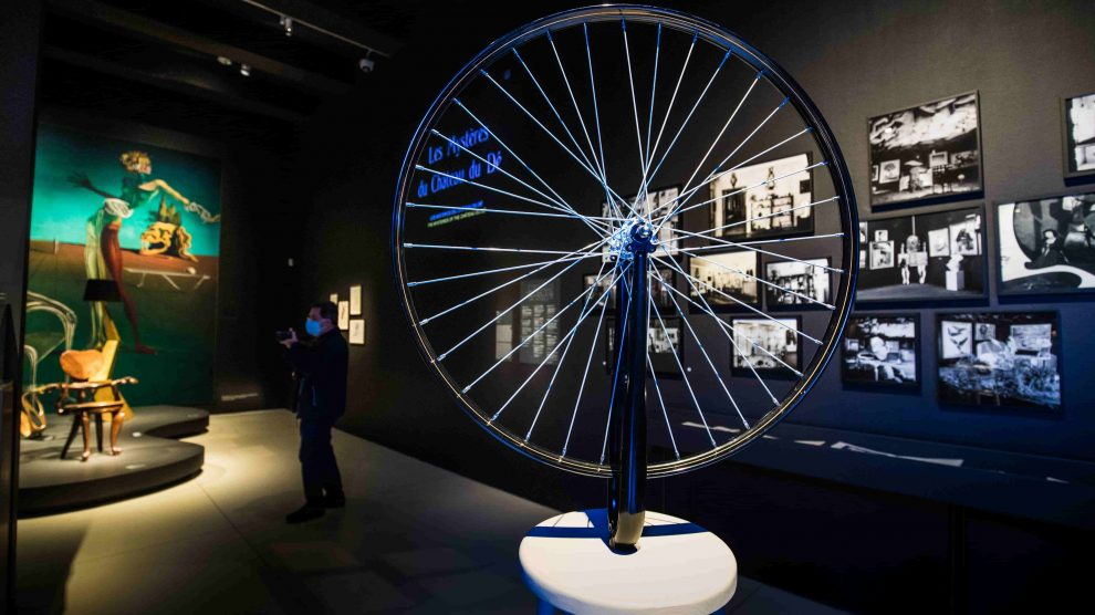 Exposición surrealismo y diseño. @CaixaForum