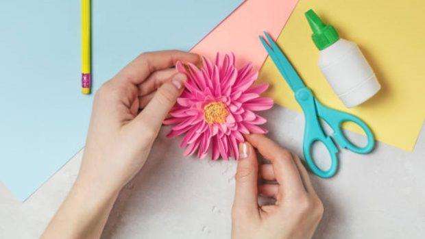 Manualidades con papel tisú: 6 ideas que querrás hacer con los niños