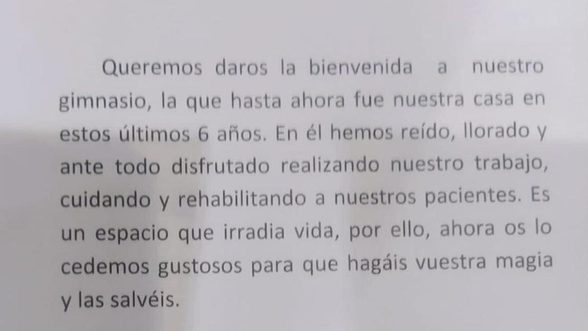 El Hospital Central de Asturias convierte el gimnasio en UCI y recibe este mensaje: «Haced vuestra magia y salvad vidas»