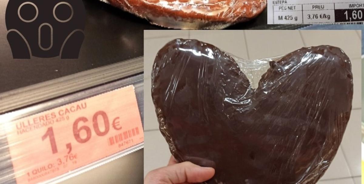 Una palmera de chocolate incendia las redes al revelar su secreto, esconde 2.300 calorías
