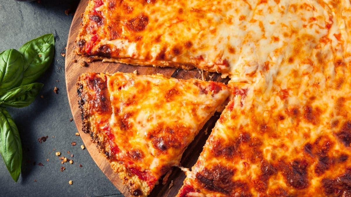 Receta de la masa de pizza de quinoa, receta vegana y sin gluten