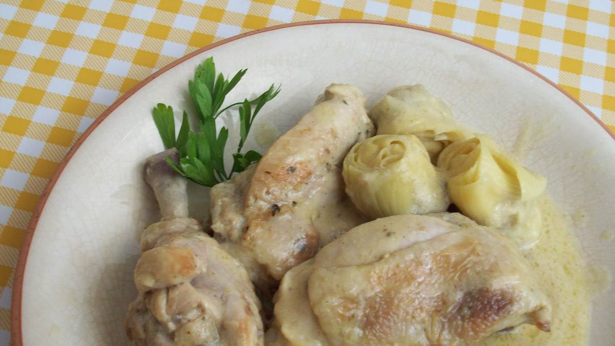 Receta de pollo en salsa caribeña