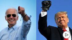 Joe Biden y Donald Trump (Foto: AFP).