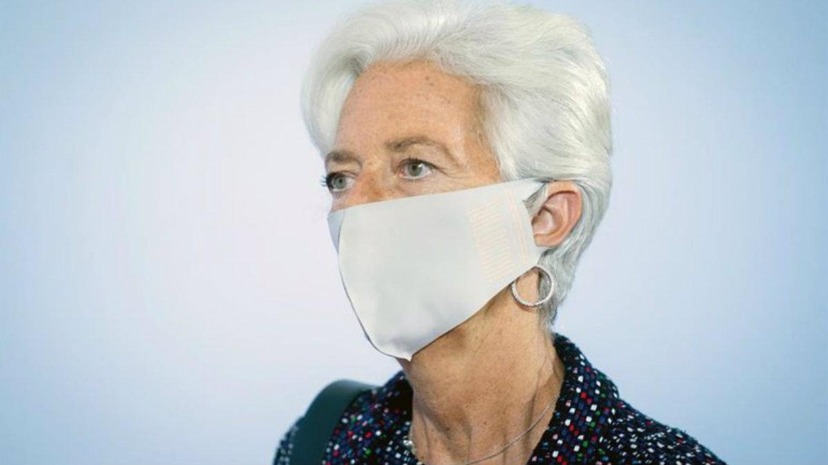 Christine Lagarde, presidenta del BCE, impulsa al Tesoro español