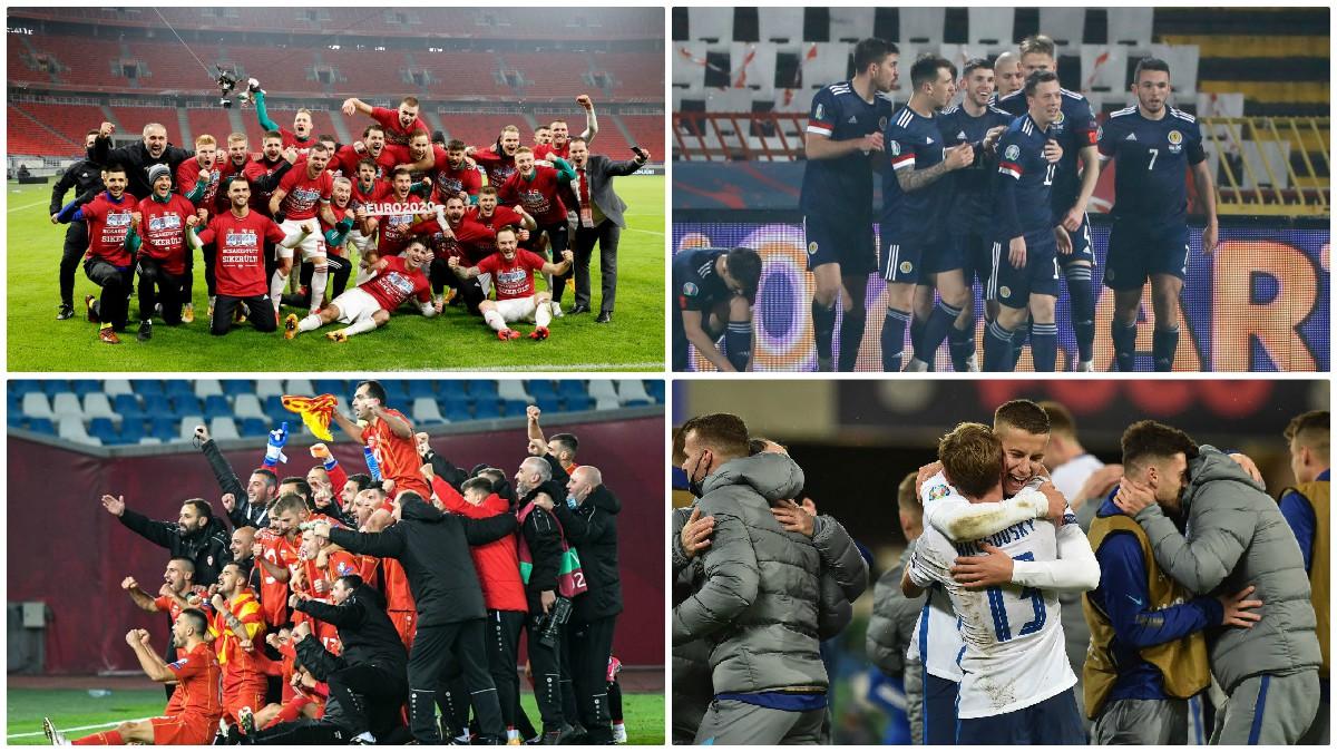 Últimos equipos clasificados para la Eurocopa 2021. (UEFA)