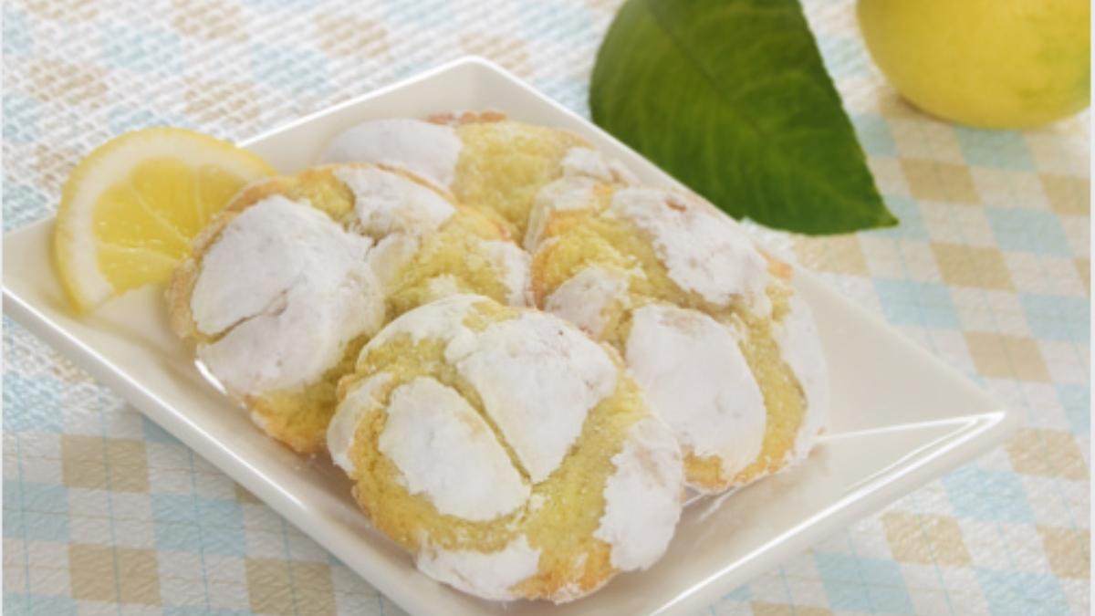 Galletas de limón saludables