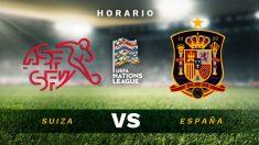 UEFA Nations League: Suiza – España| Horario del partido de fútbol de selecciones.