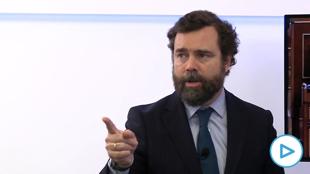 Iván Espinosa de los Monteros, portavoz de Vox en el Congreso.
