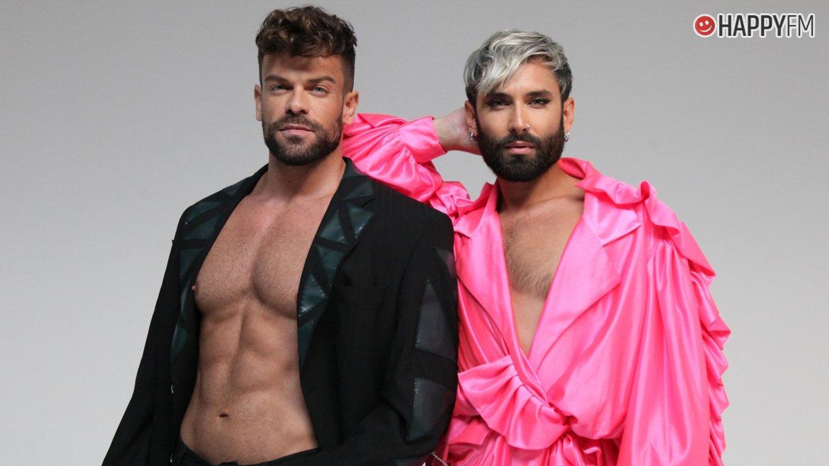 Ricky Merino y Conchita Wurst