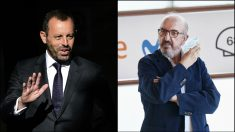 Sandro Rosell y Jaume Roures.