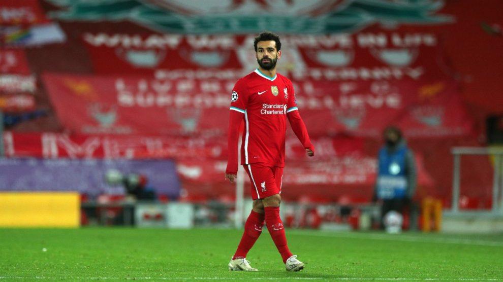 Salah, el último futbolista que ha dado positivo durante el parón internacional. (Getty)