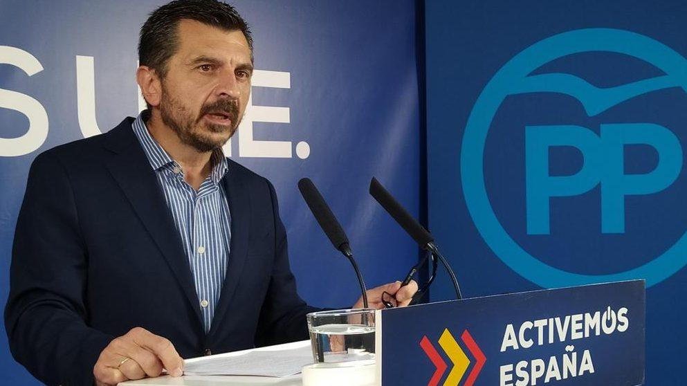 Toni Martín, vicesecretario general del PP Andalucía.