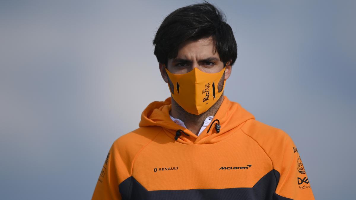 Carlos Sainz. (AFP)