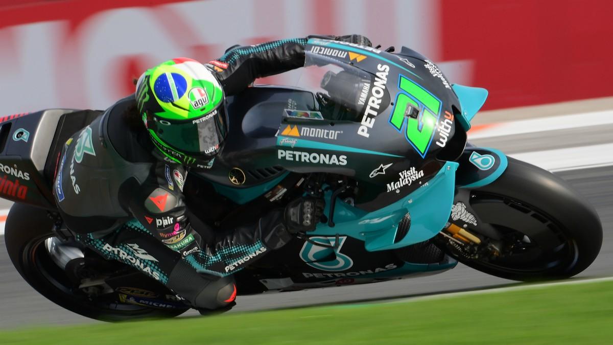Franco Morbidelli durante el GP de la Comunidad Valenciana. (AFP)