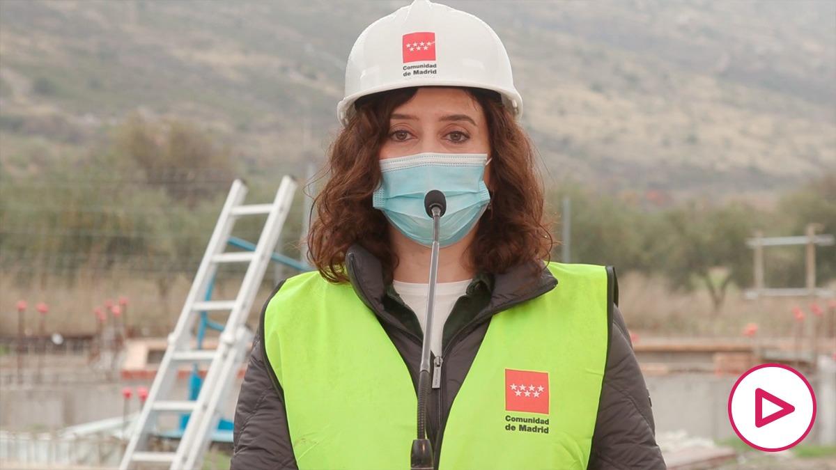 Isabel Díaz Ayuso anuncia la concesión a Rafa Nadal de la Gran Cruz de la Orden del Dos de Mayo.
