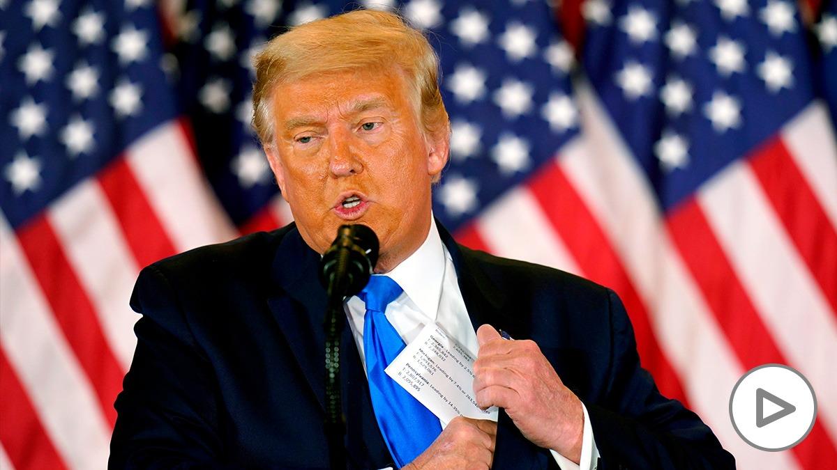 El presidente saliente de Estados Unidos, Donald Trump. (Efe)