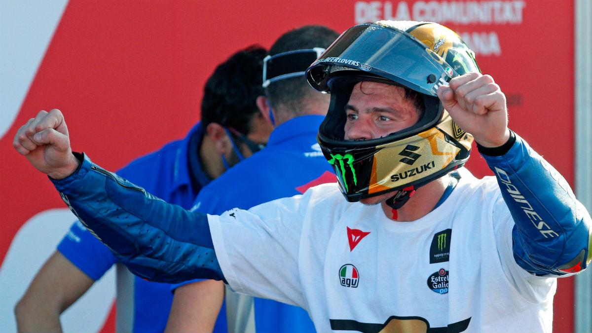 Joan Mir, nuevo campeón del mundo de MotoGP. (EFE)