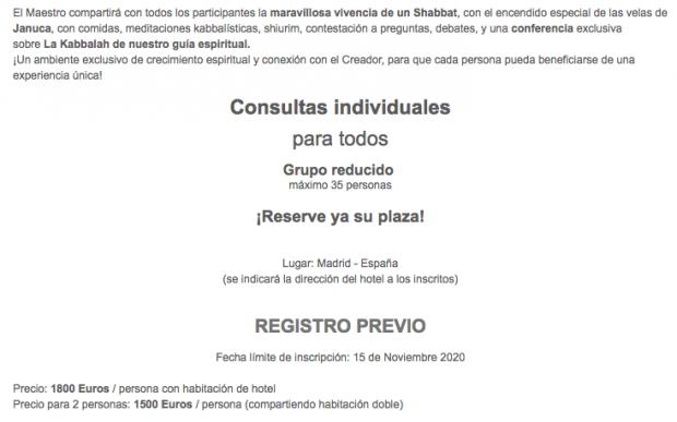 El socio de Joselito en el bono de Diosdado Cabello es un 'gurú' que da charlas esotéricas sobre la Cábala