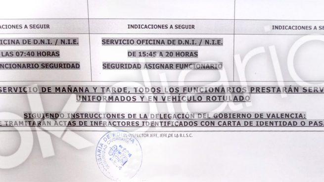 La Policía recibe orden de no multar en Valencia a los extranjeros que infrinjan las medidas anti-Covid