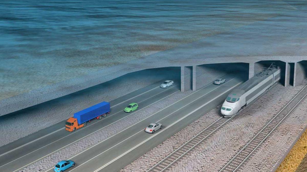 Túnel sumergido más grande del mundo