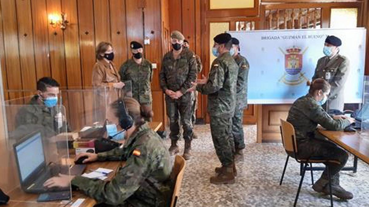 240 militares participan en Andalucía en la Operación Baluarte.