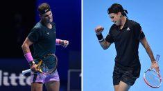 Rafa Nadal y Thiem se enfrentan en la Copa de Maestros de Londres