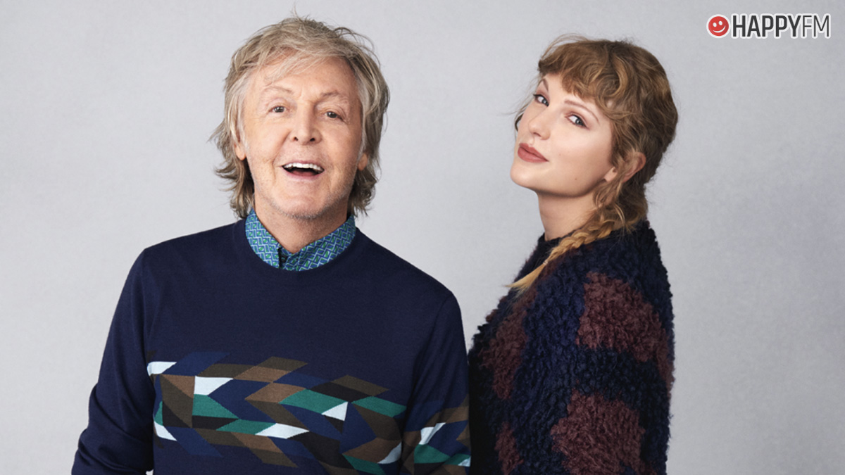Paul McCartney y Taylor Swift