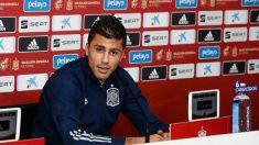 Rodrigo, durante una rueda de prensa. (RFEF)